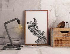 Un preferito personale dal mio negozio Etsy https://www.etsy.com/it/listing/502148062/ponte-santangelo-roma-fine-art