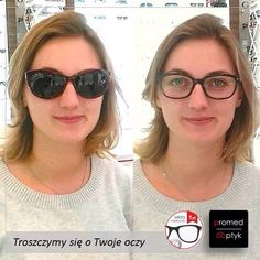 Pani Klaudia skorzystała z naszej promocji i dodatkowo zafundowała Sobie korekcyjne okulary przeciwsłoneczne. Pięknie i funkcjonalnie. Pozdrawiamy Panią Klaudię. #optyk #optometrysta #okulista #okulary #promocja