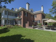 Single Family Home, Single Family Home for sales at Exquisite Brick Georgian 159 Library Place   Princeton, New Jersey 08540 United States