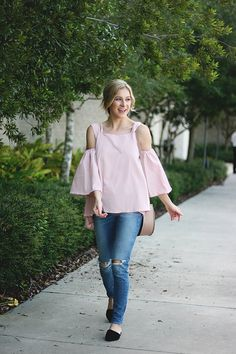 Pink Bow Top | A Daydream Love