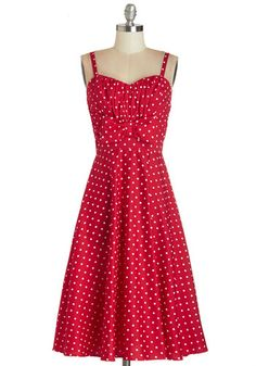 Valentines Day Dress:  Humbly Haute Dress in Red