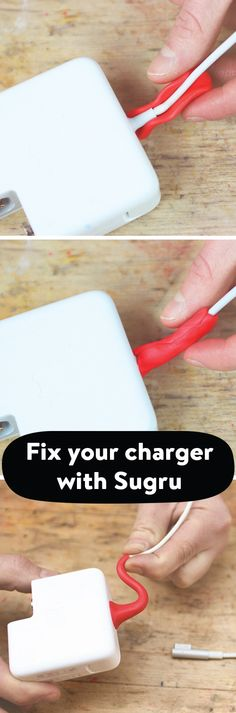 Fix your charger with Sugru