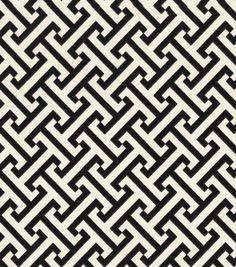 Home Decor Print Fabric- PK Lifestyles Cross Section Licorice