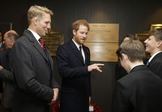 Prince Harry Photos Photos - Prince Harry, meets contributors to the RFU projects commemorating the First World War after arriving ahead of the the Old Mutual Wealth Series match between England and South Africa at Twickenham Stadium on November 12, 2016 in London, England. - Prince Harry Attends England vs South Africa - International Match