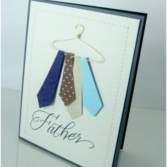 Tie Hanger Card {Father's Day Card}