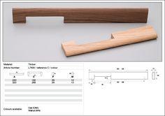 Wood handle Timber handle