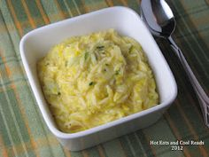 Cheesy Summer Squash Rice  we have lots of garden fresh yellow crook neck squash & this is perfect for it!