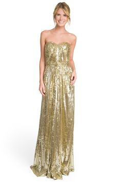 Badgley Mischka's Screen Siren Gown {$125 rental on renttherunway.com}
