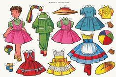 recortables, muñecas de papel para vestir, paper dolls – merimartinez1 – Picasa Nettalbum