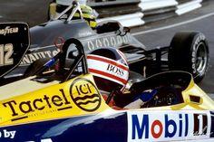 Mansell & Senna