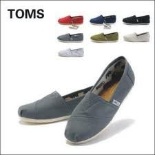 The good thing about Tom's is that they are super comfty and right now they on sale !