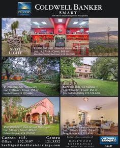 #realestate #home #forsale #sanmigueldeallende #mexico #previews #coldwellbanker #smart #bienesraices #casa #enventa #live #travelandleisure #best #city
