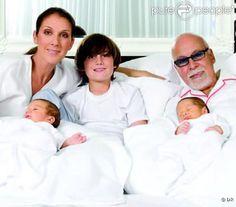Famille Dion Angélil au complet 2010☝️