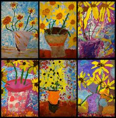 art history and painting activity lesson for children van gogh sunflowers Artist Van Gogh, Van Gogh Art, Art Van, Artist Art, Vincent Van Gogh, Kindergarten Art Lessons, First Grade Art, Ecole Art, Spring Art