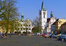 Litoměřice, Mírové náměstí, RomanZazvorka Street View