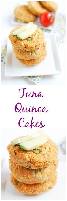 Tuna Quinoa Cakes