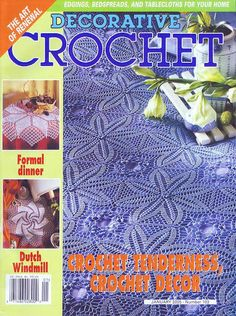 Decorative Crochet Magazines 67 - Gitte Andersen - Веб-альбомы Picasa