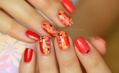 nail art one stroke chinois