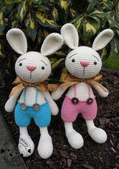 Elroy and Melvin the Bunnies