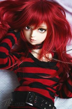 BJD ~ Eyes are wonderful *^* Anime Dolls, Blythe Dolls, Barbie Dolls, Pretty Dolls, Beautiful Dolls, Chica Gato Neko Anime, Manequin, Gothic Dolls, Dream Doll