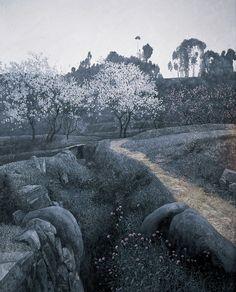 Wang Long Sheng(王龙生 Chinese, b.1944)via  more