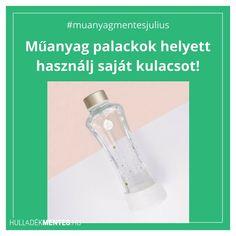 Az eldobható műanyag palackok helyett igyál csapvizet, teát, szörpöt a saját kulacsodból! 💧Tudtad, hogy a palackozott víz létrejötte az üdítőital gyártóknak köszönhető? Az 1970-es években a mesterséges igénykeltés módszerét alkalmazva kezdték el rászoktatni az embereket arra, hogy a csapvíznél márkától függően 100-10000-szer drágább, környezeti problémákat okozó és opcionálisan egészségre káros adalékanyagokat tartalmazó palackokból kezdjék el fogyasztani a vizet.Egy-egy palackozott víz… Water Bottle, Zero Waste, Drinks, Health, Instagram, Drinking, Beverages, Health Care, Water Bottles