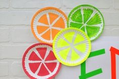 The perfect summer kid craft: Paper plate fruits | BabyCenter Blog
