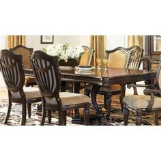 Fairmont Designs Grand Estates Rectangular Dining Set   Formal Dining Sets    Dining Room Sets By Dining Rooms Outlet