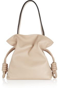 Loewe Flamenco Knot small leather shoulder bag | NET-A-PORTER
