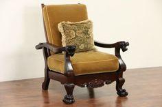 119 best antique morris chairs images morris chair antique rh pinterest com