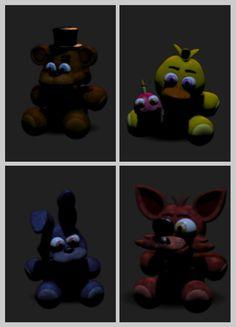 Fnaf ~Aww I want Freddy❤ And you? << I want Bonnie >~< << I want Foxy ^-^