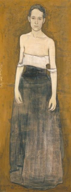 Sir William Rothenstein, 'Parting at Morning' 1891