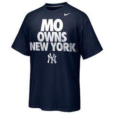 a8cc7bcec Nike Mariano Rivera New York Yankees Player Owns City T-Shirt - Navy Blue  Yankees