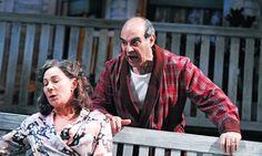 Zoe Wanamaker and David Suchet in ALL MY SONS (Apollo Theatre, 2010, dir. Howard Davies)