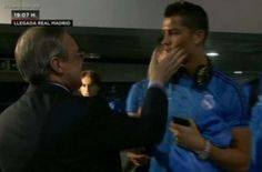 Welcome To Chitoo's Diary.: What???Cristiano Ronaldo was slapped by Real Madri...