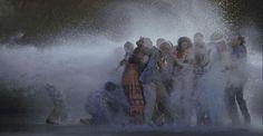 The Raft, May 2004 Video/sound installation Photo: Kira Perov © Bill Viola