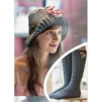 Flower Hat and Lace Knee-Highs | InterweaveStore.com