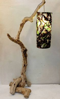 driftwood lamps - Google Search