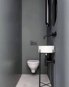 #gästtoalett #inredning #detaljer #dekoration #ljussättning #lighting #ljus #färgochforn #toilet #fo - inspiration_by_p