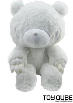 Gloomy Bear - Monotone (White)