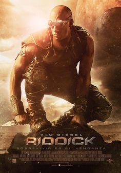 Riddick (póster) - 2013.