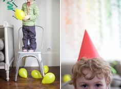 party surprise... great idea