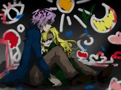 """""""I love you, Garry""""  Garry x Mary<<<<< not my ship but cute."""