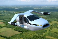 """Terrafugia Plans to Release The World's First Flying Car.  """"The company recently announced a new model called the TF-X, which will launch vertically, fly like a private jet, and drive like a car."""""""