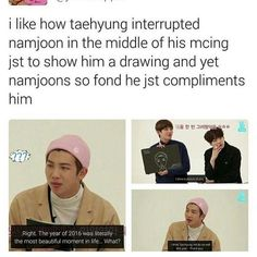 i peg rap mon to be V's parent in bts and who looks after him the most heheh