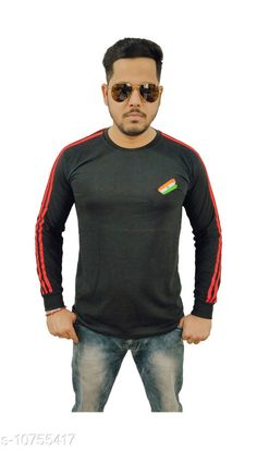Tshirts Indian Army Camaouflage Stylish T-shirt for men (Full) Fabric: Cotton Sleeve Length: Long Sleeves Pattern: Solid Multipack: 1 Sizes: XL (Chest Size: 21 in Length Size: 28 in)  L (Chest Size: 20 in Length Size: 27.5 in)  M (Chest Size: 18 in Length Size: 26 in)  XXL (Chest Size: 22 in Length Size: 29.5 in) Country of Origin: India Sizes Available: M, L, XL, XXL   Catalog Rating: ★4.4 (488)  Catalog Name: Trendy Partywear Men Tshirts CatalogID_1978418 C70-SC1205 Code: 163-10755417-168