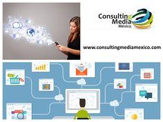 LA MEJOR AGENCIA DE MARKETING DIGITAL. Las redes sociales de tu empresa no deben tomarse a la ligera, así que es importante que el manejo sea profesional, para evitar crear una mala fama de tu marca o empresa. Con los servicios que te ofrecemos en CONSULTING MEDIA MÉXICO, no tendrás nada de qué preocuparte, ya que nuestros expertos se encargan de cuidar tu comunicación y estrategias de marketing digital. Para más información, te invitamos a consultar nuestra página. www.consultingmediamexico.com Digital Marketing Strategy, Marketing Strategies, Social Networks, Create