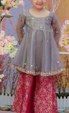 a0b3987d5 Maria B Fancy Kids Dresses Designs 2018-19 Collection for Girls ...