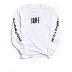 PURPOSE TOUR long sleeve Justin Bieber world tour staff shirt ($19) ❤ liked on Polyvore featuring tops, long-sleeve shirt, justin bieber shirts, justin bieber, long sleeve tops and long sleeve shirts
