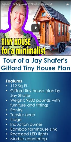Tour of a Jay Shafer's Gifford Tiny House Plan | Tiny Quality Homes